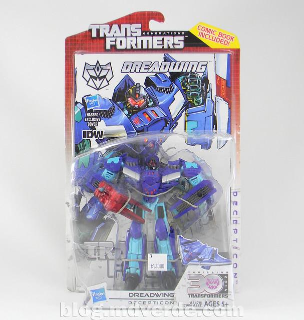 Transformers Dreadwing Deluxe - Generations - empaque