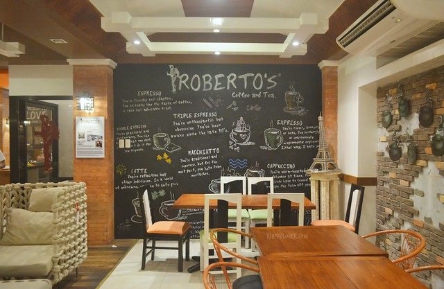 roberto's coffee and tea bataan restaurants