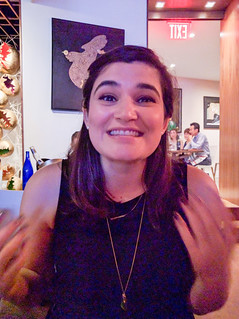 Excited Melissa