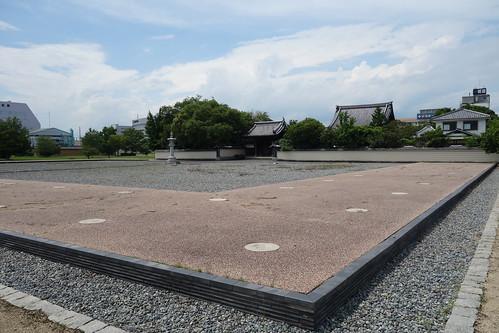 播磨国分寺 回廊跡