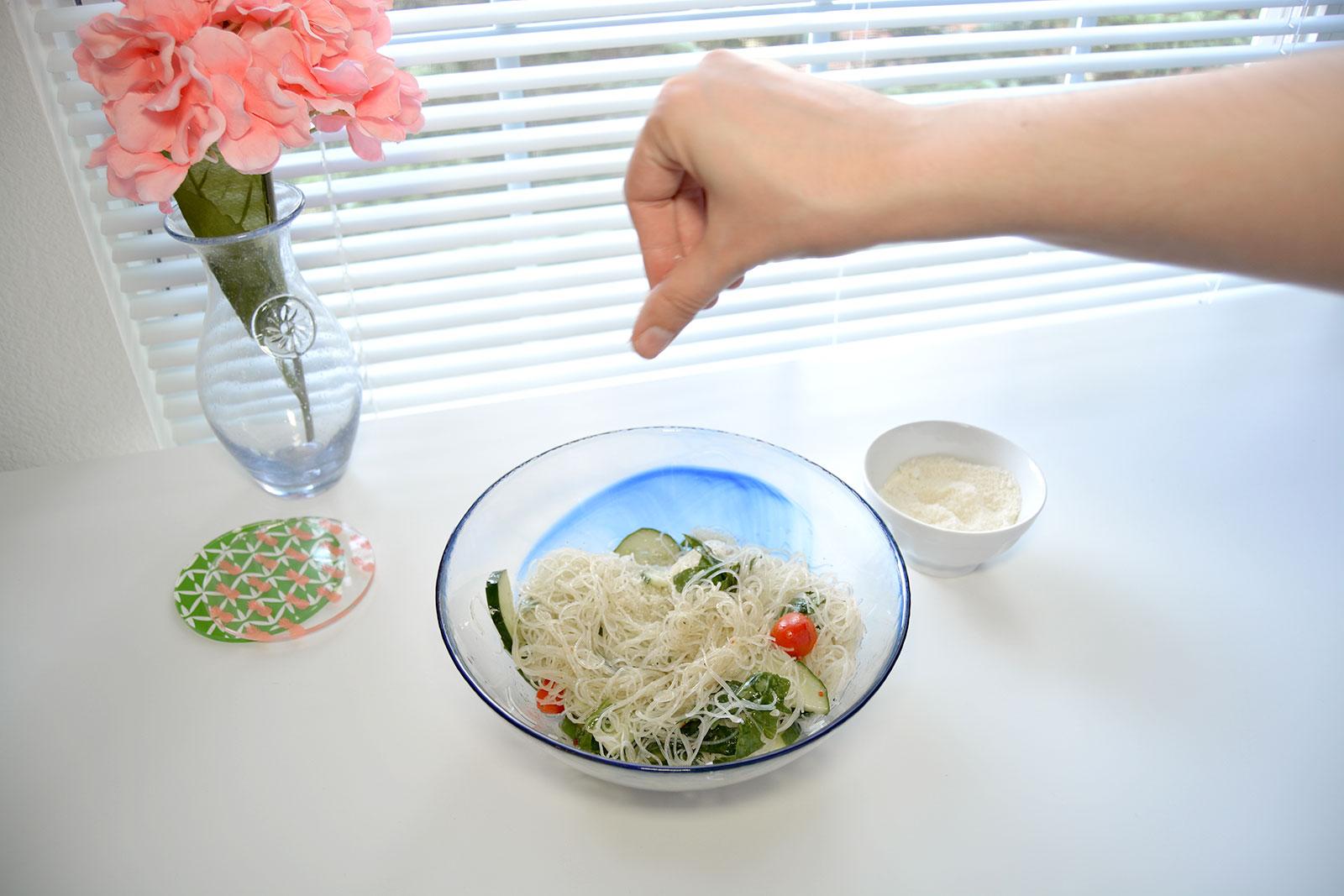 Best Healthy Summer Pasta Salad in Under Ten Minutes