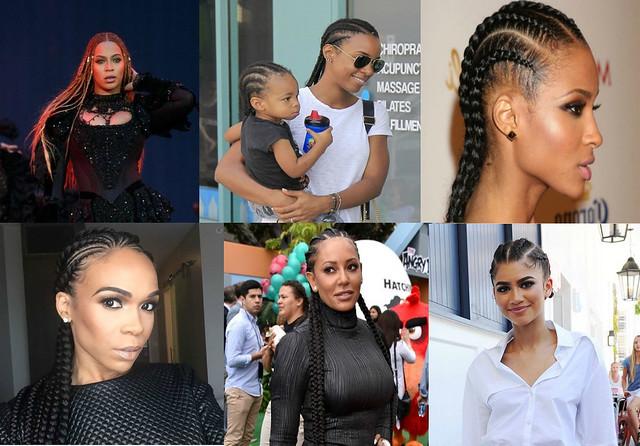 cornrows hair style trend