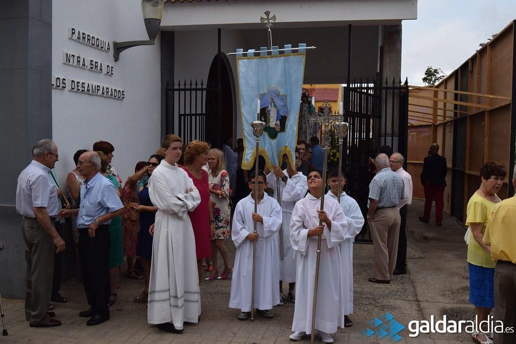 Procesión Nuestra Señora de los Desamparados, Barrial 2016