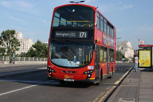 London Central WVL355 LX60DWE