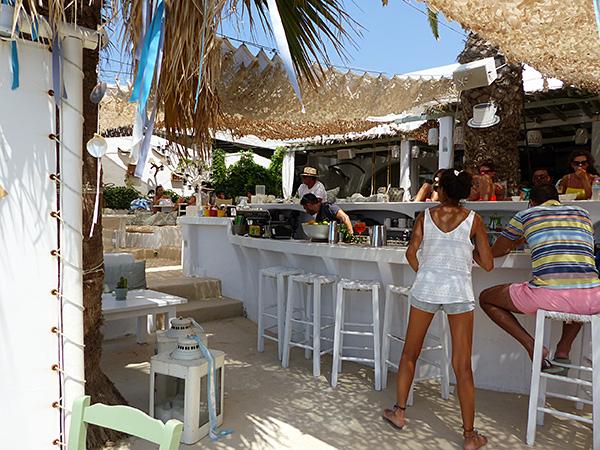 bar à Agia Anna