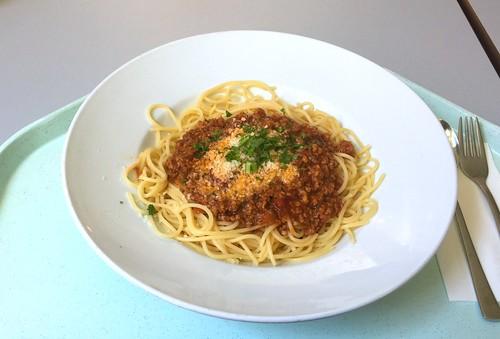Spaghetti Bolognese & Parmesan
