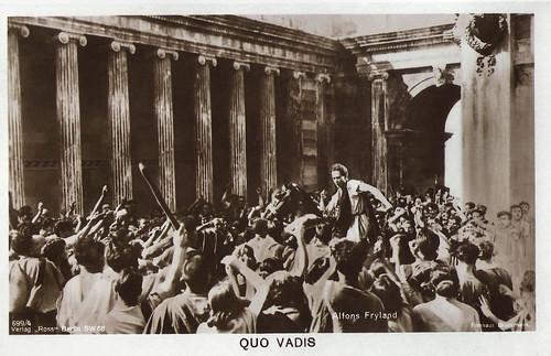 Alphons Fryland in Quo Vadis (1925)