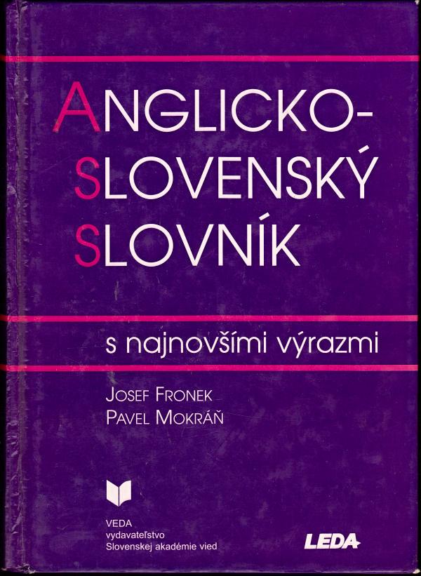 Kniha Anglicko-slovenský slovník s najnovšími výrazmi