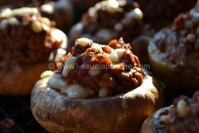 Champignons Farcis à la Plancha © Ana Luthi Tous droits réservés 12