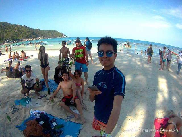 TeamRH at Haad Rin Beach Koh Phangan