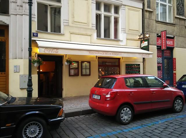 布拉格 Restaurace Sedm konšelů