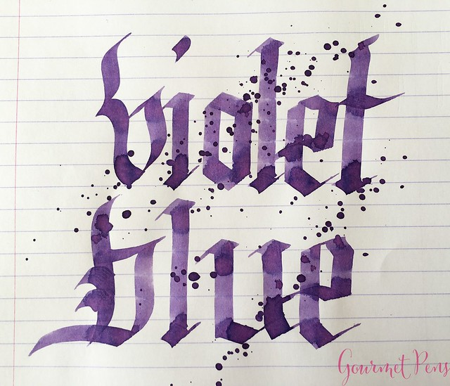 Ink Shot Review Graf Von Faber-Castell Violet Blue @AppelboomLaren 8