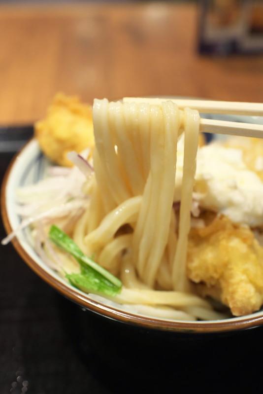 丸亀製麺のタル鶏天ぶっかけ