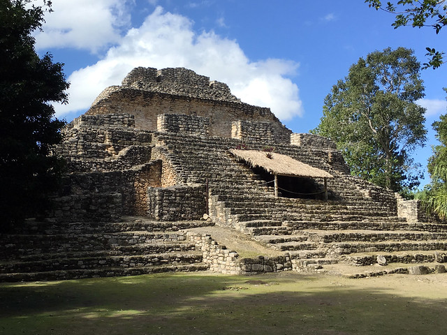 ruins at Chacchoben