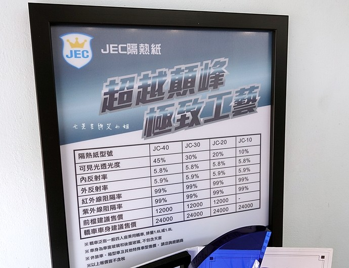 6 JEC無敵至尊JC系列隔熱99