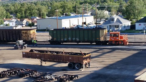 Car Mover in Green River Yard