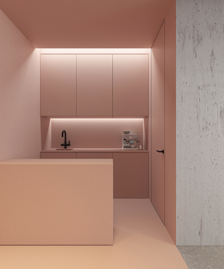 AMM blog | a pink commercial office in Kiev