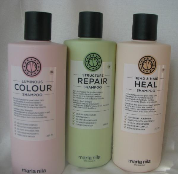 maria nila shampoos 2