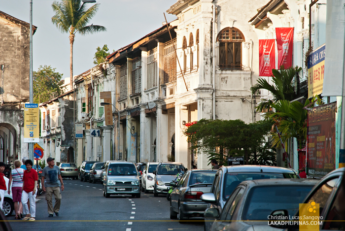 Georgetown Penang Shophouses