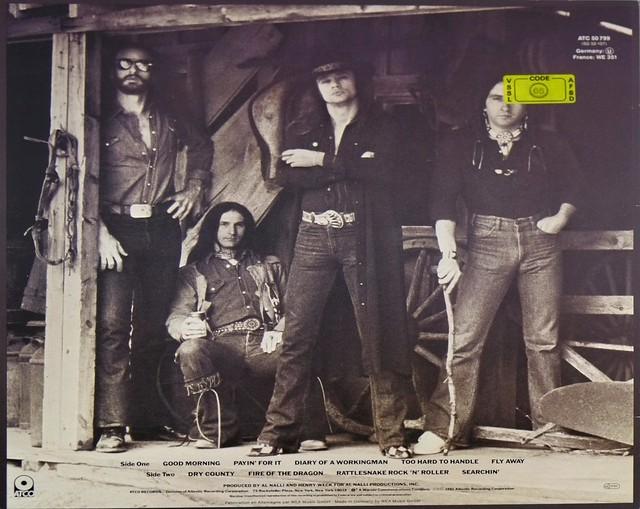 "BLACKFOOT MARAUDER CUSTOM SLEEVE 12"" LP VINYL"