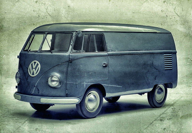 Фургон Volkswagen Transporter T1 образца 1950 года