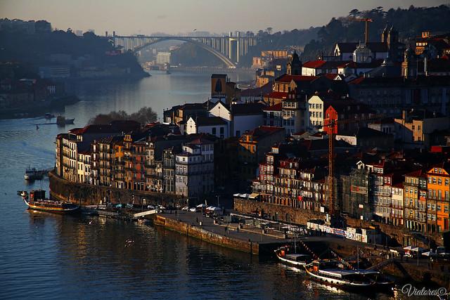 Ponte Luís I. Porto. Portugal