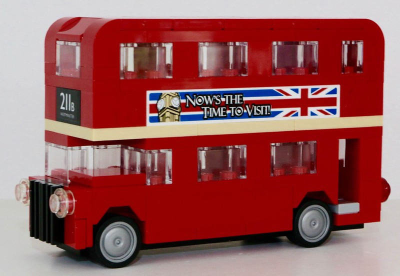 Review 40220 London Bus Brickset Lego Set Guide And Database