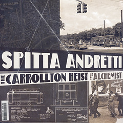 Curren$y - The Carrollton Heist (Front)