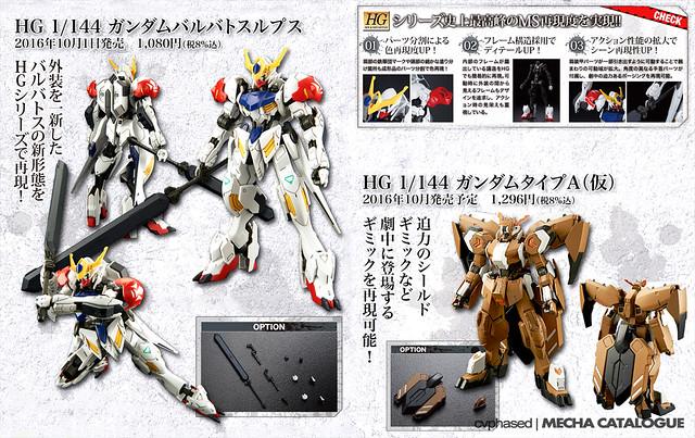 Mobile Suit Gundam IRON-BLOODED ORPHANS - New HG IBO/IBA Gunpla