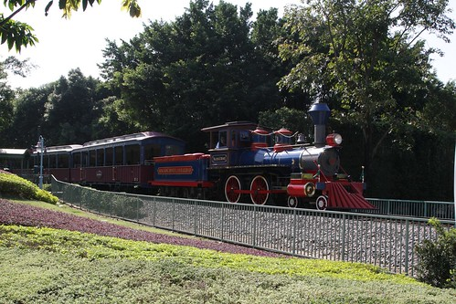 Locomotive #1 'Walter E. Disney' on the Hong Kong Disneyland Railroad