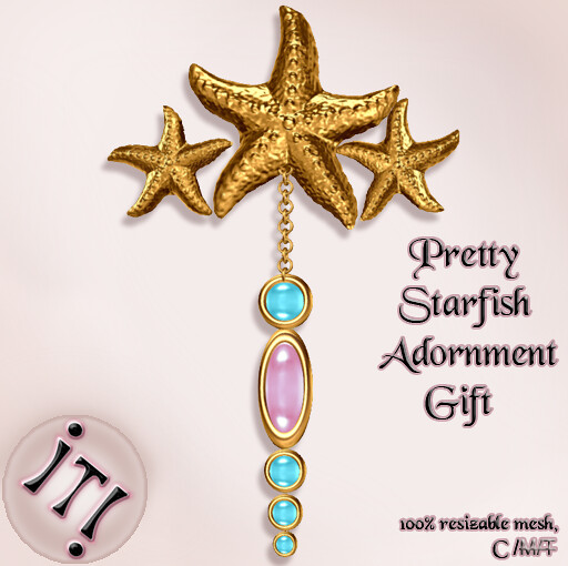!IT! - Pretty Starfish Adornment Gift Image