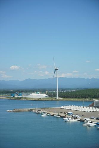 20160812 能代港第一・第二風力発電所