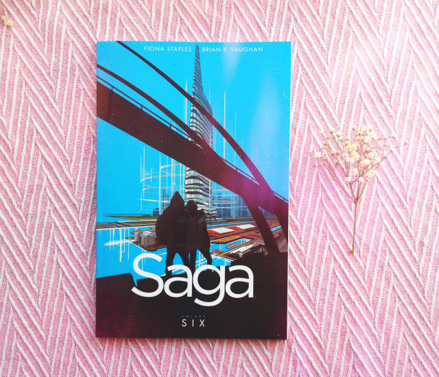 saga volume 6 book haul uk book blogger vivatramp