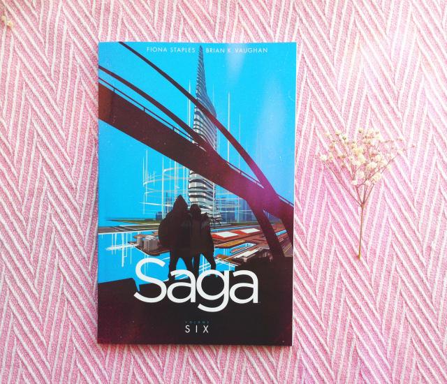 saga volume 6 book haul uk book blogger vivatramp