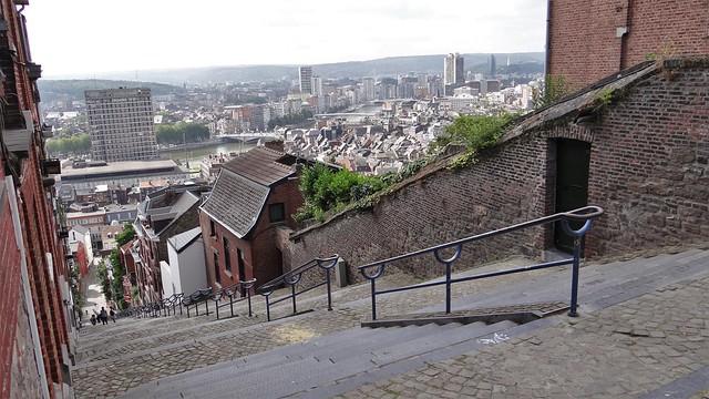 Liege Montagne de Bueren trapstraat