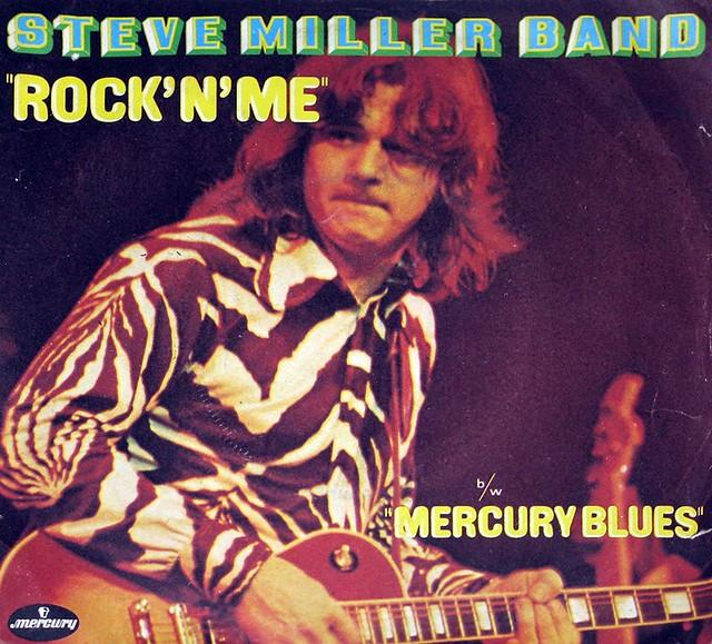 "STEVE MILLER BAND ROCK 'N' ME / MERCURY BLUES FRENCH 7"" PS Single"