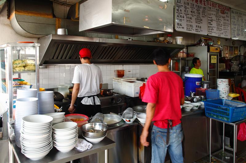 B & Best Seafood Noodle Restaurant