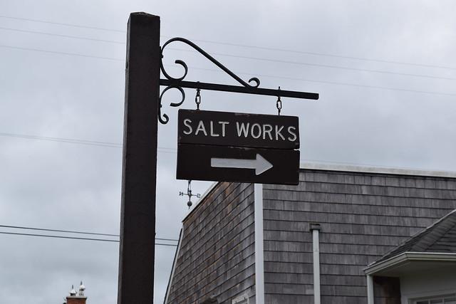 Salt Making at Seaside