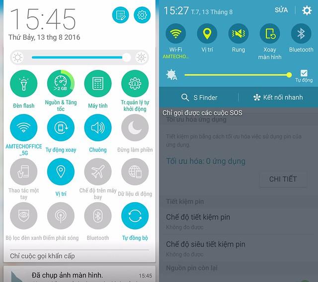 """[So sánh] Samsung Galaxy A5 2016 vs Asus Zenfone 3 5.2"""" - P1: Thiết kế bên ngoài, cấu hình và Pin - 136885"""