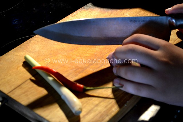 Crevettes au Curry Jaune & Ananas avec Nouilles © Ana Luthi Tous droits réservés 004