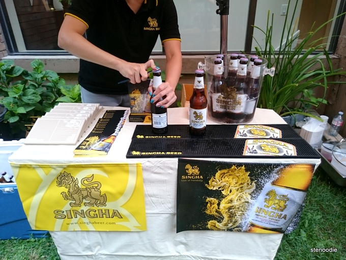 Singha Beer booth