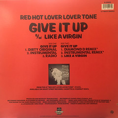 RED HOT LOVER LOVER TONE:GIVE IT UP(JACKET B)