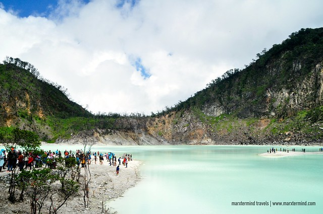 The Magnificent Kawah Putih in West Java Indonesia