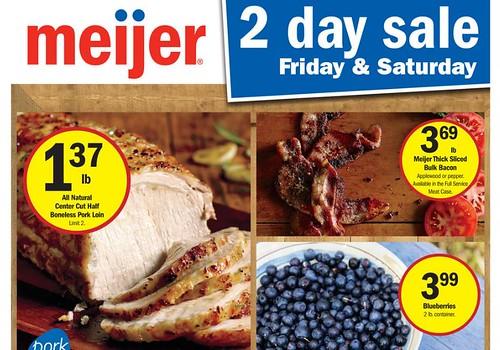 Meijer Two Day Sale