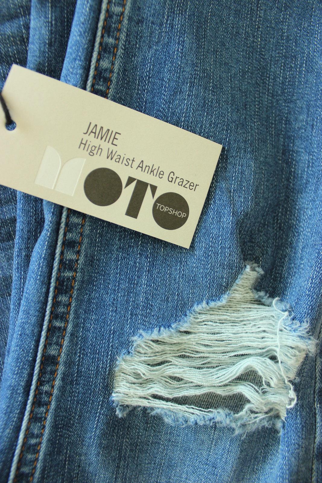 topshop moto jeans jamie