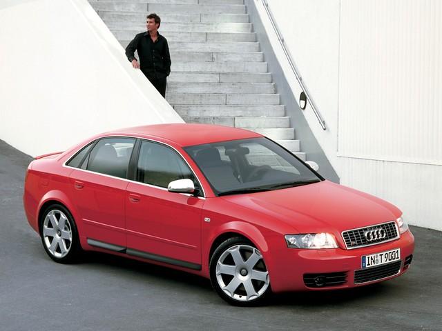 Высокопроизводительный седан Audi S4 B6. 2003 - 2005 годы