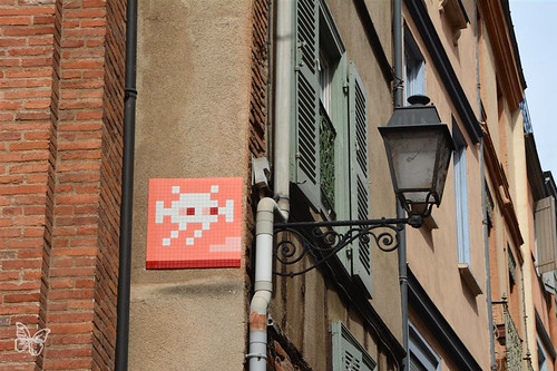 Space Invader Toulouse - TL_04