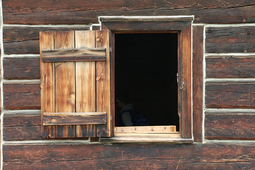 In the Window at Fort Edmonton