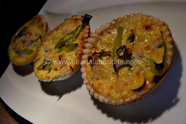 Tartelettes Poireaux-Crevettes © Ana Luthi Tous droits réservés 11
