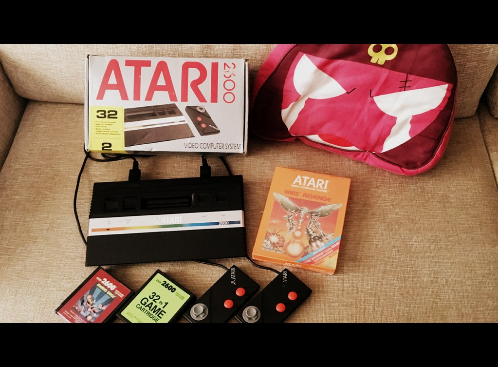 Collection update: Finally! Atari 2600 Jr. + Yars Revenge